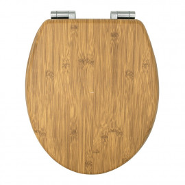 Capac WC - Bamboo inchidere lenta