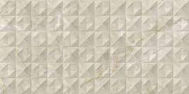 Gresie Tobaco porțelanată decor, 60×30 cm, bej