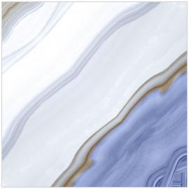 Gresie vitrificata Living Digital Dominica Blue Book Match Glossy 60 x 60