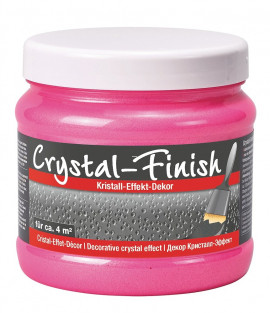 Pufas Crystal - Finish Neon Pink
