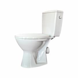 Set vas Wc  Senator  Rezervor WC 3/6L Capac Cil WC polipropilena